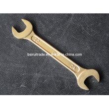 Doppel offene Ende Schraubenschlüssel Messing nicht Funken Handwerkzeuge