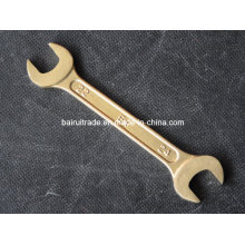Double Open End Wrench Brass Non Sparking Hand Tools