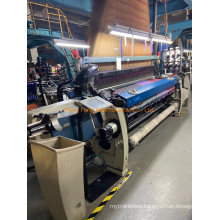 Picanol Optimax Loom in 220 Cm with Staubli Jacquard Dx 80 - 1408 Hook with Jc6 System Year 2010