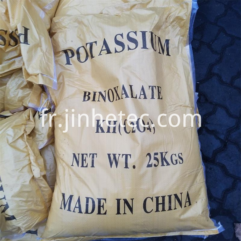 Potassium Hydrogen Oxalate For Granite Industry CAS 127-95-7