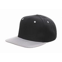 Fait en cuir noir Snapback Hat en gros