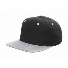 Feito de couro preto snapback hat atacado