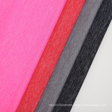 Moisture wicking dry fit 92%polyester 8%spandex stretch mesh fabric for sportswear