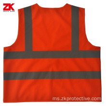 EN471 standard Roadway reflective vest reflection