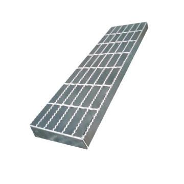 Anti-Slip Serrated Steel Material Bar Grating Stair Treads Welding Plate