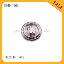 MFB105 Кнопки верхнего конца кнопки способа сплавляют золото джинсыов для одежды