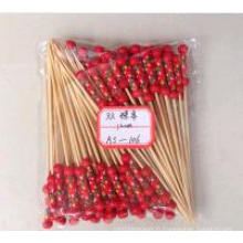 Hot Sale Two Beads Bamboo Stick