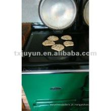 Teflon churrasqueira reutilizável resistente ao calor