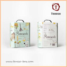 Nuevo diseño de embalaje de alimentos caja de regalo