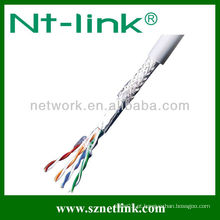 23 awg 0.575mm cabo de lan indoor blindado cat5e