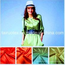 100% Poly Satin mit Druck für Damenbekleidung Stoff