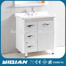 2014 Middle East Hot Sell Modern Design Waterproof PVC Bathroom Cabinet