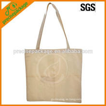 Einfache kundengebundene Baumwolleinkaufstasche für Lebensmittelgeschäft