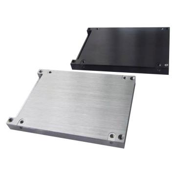 Präzisions-Blechprototyp mit gebürsteter Oberfläche für elektronisches Produkt (LW-03167)