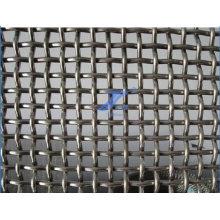 Malha de arame frisada para filtragem de minas