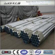 Propiedades de tubería de acero galvanizado