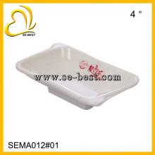 "4"" small melamine sauce boat"