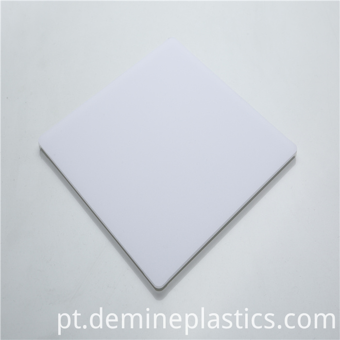 White Polycarbonate Sheet