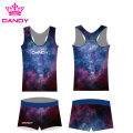 Sublimationsdruck Fancy Spark Cheerleading Outfits