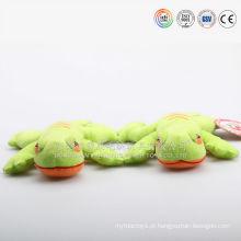 brinquedo macio do animal enchido do lagarto do descanso