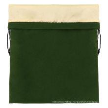 Good quality embroidery jewellery gift customizable velvet drawstring bag