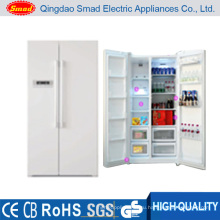Коммерческие бок о бок холодильник с морозильной камерой с льда, Диспенсер для воды и мини-бар