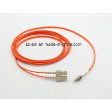 SC / PC LC / PC fibra óptica multimodo (4M) en venta