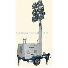 Torre de iluminação diesel RZZM43C-Hydraulic (torre de luz, torre de luz, torre de luz móvel)