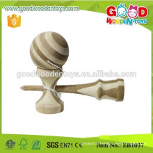 Traditional Toy Carbon Bamboo Kendama Balls for kids