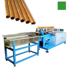 CNC coil copper/brass/aluminum/bundy tube straightening & cutting machine