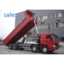 Caminhão basculante de HOWO 8X4 para a venda / mais barato e de alta qualidade para a venda