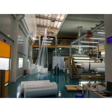 Bonita máquina de producción de telas no tejidas