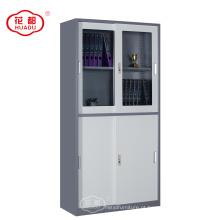 atacado preço de fábrica barato armário de enchimento de aço à prova d 'água armários de portas de correr