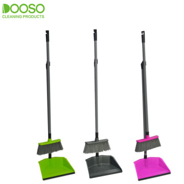 Long Handle Good Quality Dustpan and Broom set