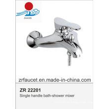 Alta calidad solo manejar el grifo de la bañera-ducha
