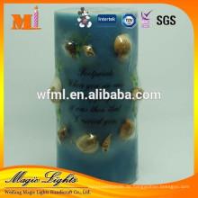 Insert Shell Handmade Stumpenkerze zum Verkauf