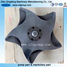 Composants de pompe de Durco d'acier au carbone / acier allié en Chine
