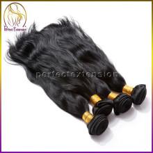 perfekte Ergänzung natürliche gerade Maschine macht reines Haar Brötchen 1 Stück