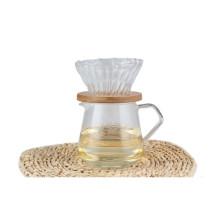 High Quality Borosilicone Glass Coffee Dripper Set