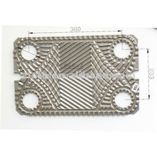 TL6 plate and gasket , refrigerator evaporator plate
