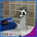 Fyeer Fashion Waterfall - Grifo monomando para lavabo Bathrooom con una sola manija, cascada