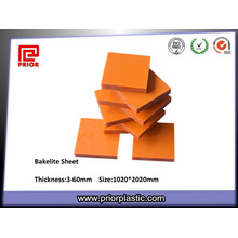 Plaque de bakélite en papier phénolique plastifiant