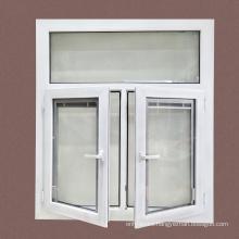 Custom Cheap Conch Profile Arch Double Casement Sliding UPVC Window Price