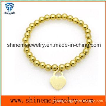 Hot-Selling Stainless Steel Bead Pendant Bracelet (BL2838)
