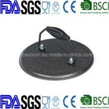 Round Cast Iron Meat Press with Metal handle 7′′