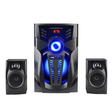 Alto-falantes multimídia 2.1 usb home theater