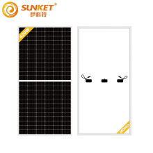 9BB 144 Zellen Half Cut 430w Mono Solar Panel