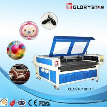 Machine de gravure et de découpe à double tête laser à double tête et auto-alimentation (GLC-1610FT / 1810FT)