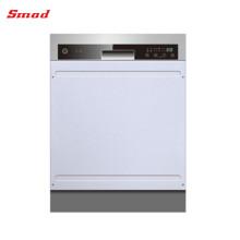 Mini lave-vaisselle en acier inoxydable semi-automatique entièrement automatique