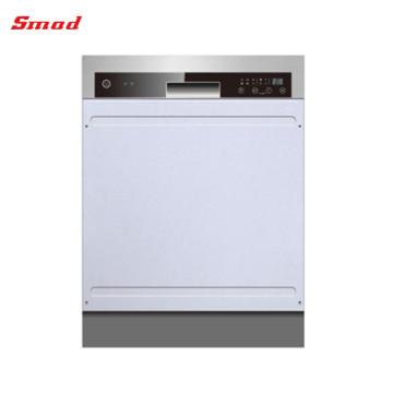 Mini máquina de lavar louça de aço inoxidável semi inteiramente automático profissional